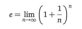 Eulersche Zahl als Grenzwert